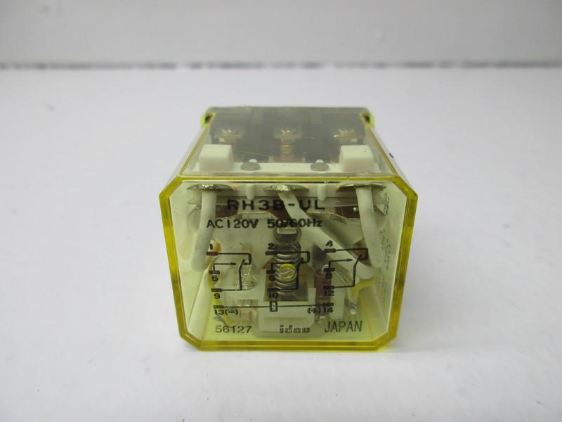 Firma i Przemysł New Surplus Idec RH3B-UL Relay Lot of 10 AC120V