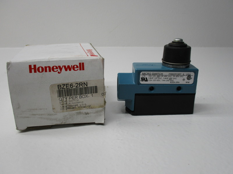 NEW IN BOX * HONEYWELL BZE6-2RN2 LIMIT SWITCH