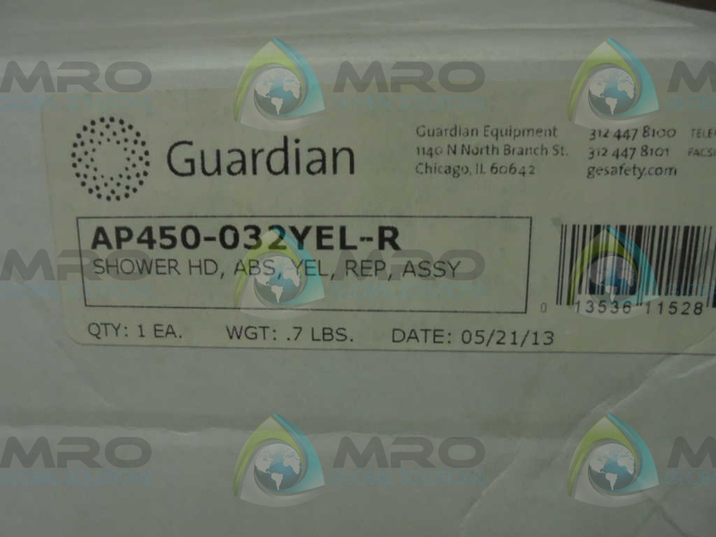 GUARDIAN  AP450-032YEL-R  SHOWER HD  NEW IN BOX