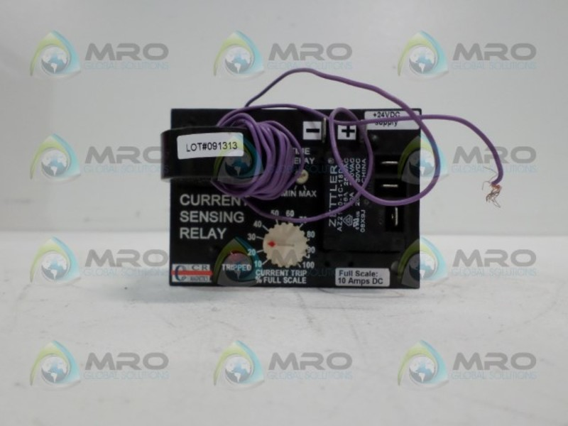 NEW CR MAGNETICS CR5395-EH-24D-110-X-CD-ELR-I CURRENT SENSING RELAY