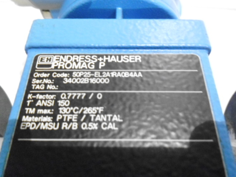 Details about ENDRESS+HAUSER PROMAG P 5OP25-EL2A1RA0B4AA * NEW NO BOX *