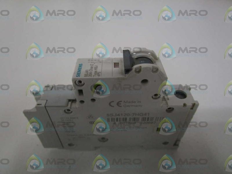 Siemens 5sj41207hg41 Industrial Control System Ebay Circuit Breaker Timer 5sj4120 7hg41 20a New No Box