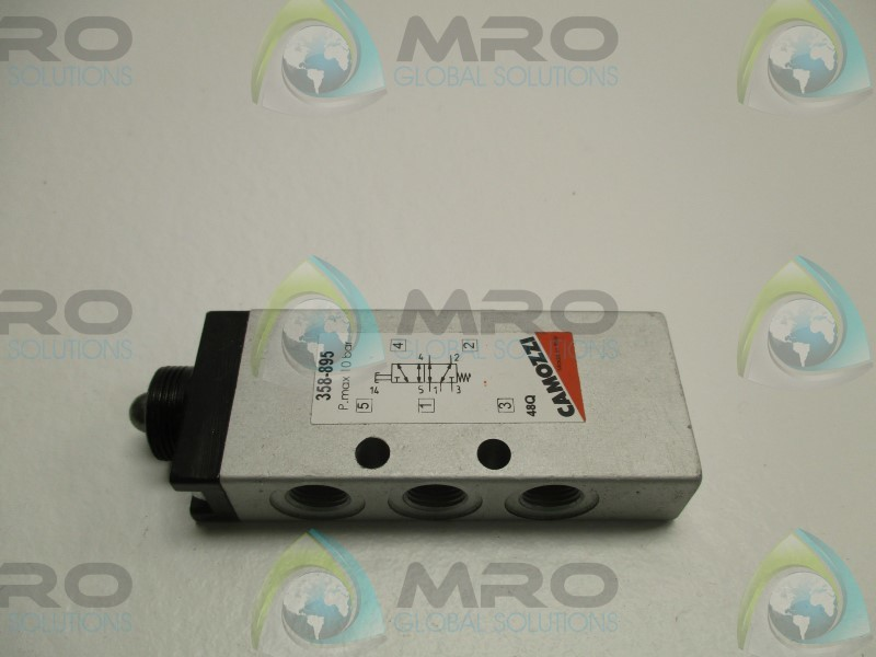 Pneumatic valve Camozzi 338-035 Distributor with one-way pneumatic control.