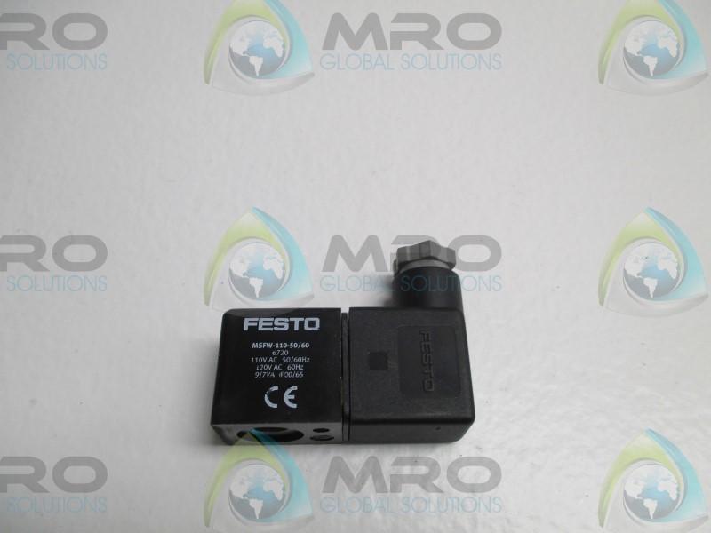 1pc for FESTO 6720 SOLENOID COIL MSFW-110-50//60 AC110V