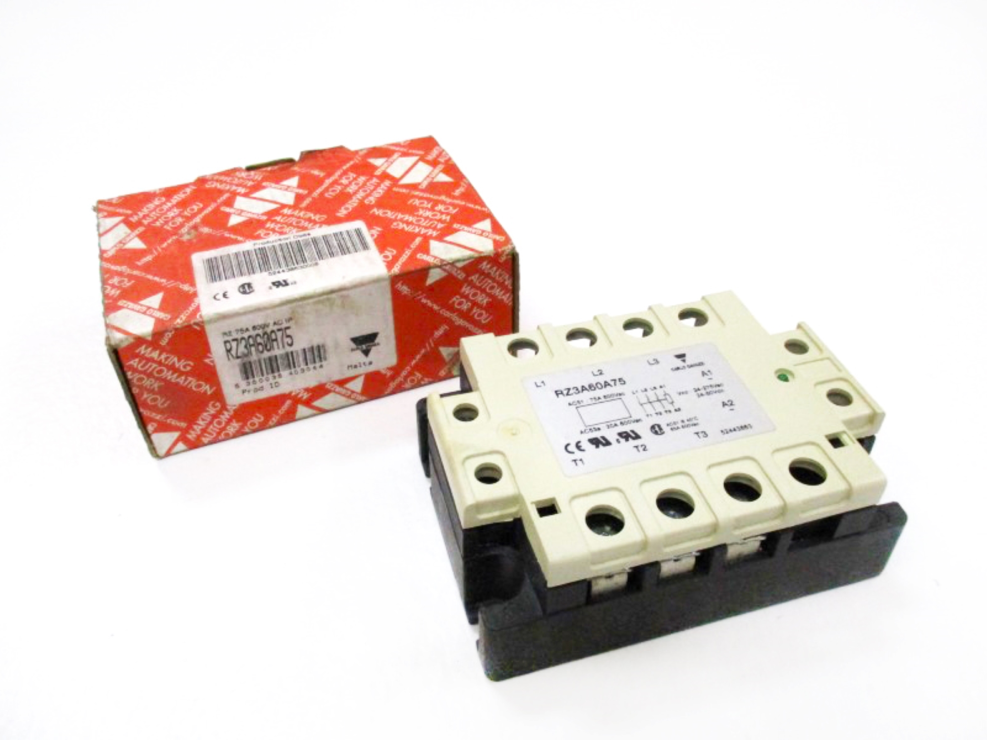 Carlo Gavazzi RM1A23A75 Solid State Relay Contactor NEW