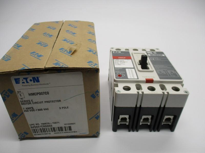 GREY EATON HMCP003A0C SER NSMP C 3A 600VAC