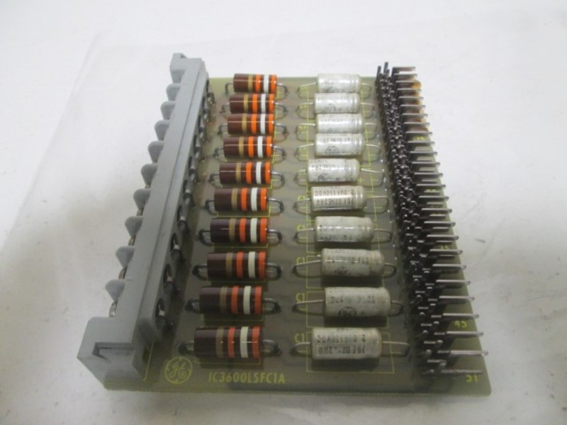 GENERAL ELECTRIC  IC3600LSFC1A SIG FILTER BOARD * USED *