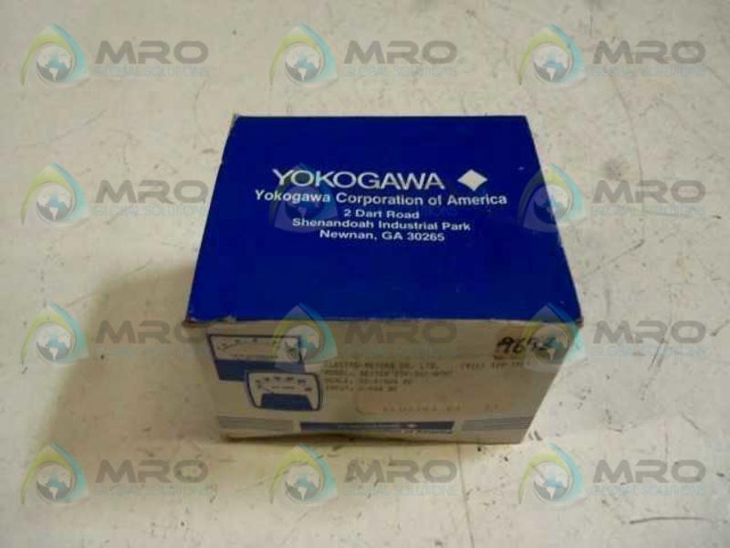 GE Yokogawa Type I85 Edgewise Panel Meter 185-113-FAFA; 0-1.0 DC Milliampere NEW