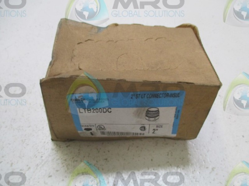 """NEW NO BOX * CROUSE-HINDS 1-3//4/"""" CONNECTOR UNF-UNY5"""