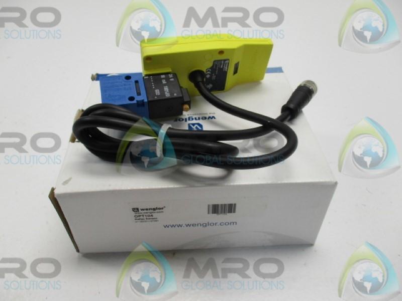 Wenglor OPT103 Reflex Sensor für Roller Conveyor Systems