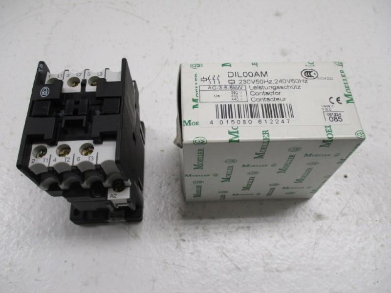 Details about KLOCKNER MOELLER DIL00AM CONTACTOR 230/240V * NEW IN BOX *