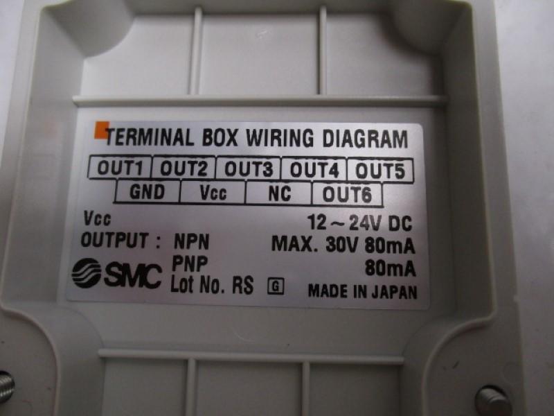 Smc Isa2 Terminal Box Wiring Diagram  As Pictured    New No Box